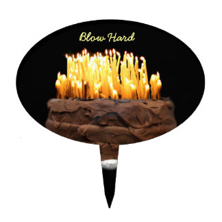 Way way over the hill birthday cake topper