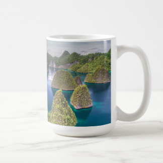 Wayag Island landscape, Indonesia Coffee Mug