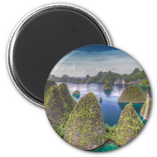 Wayag Island landscape, Indonesia Magnet