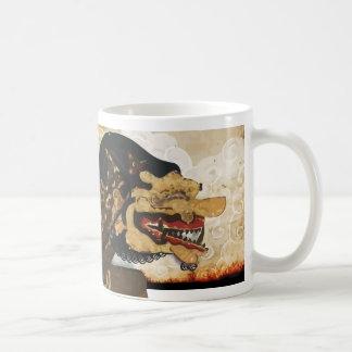 Wayang in motion Mugs