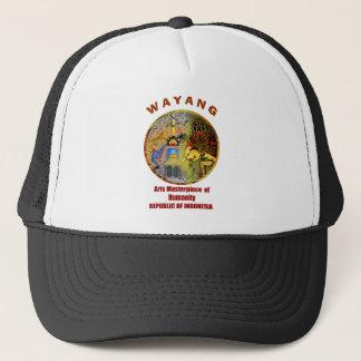 wayang.png trucker hat