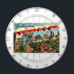"Waycross Georgia GA Old Vintage Travel Souvenir Dart Board<br><div class=""desc"">Waycross,  Georgia GA