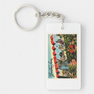 Waycross Georgia GA Old Vintage Travel Souvenir Keychain
