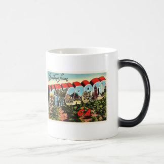 Waycross Georgia GA Old Vintage Travel Souvenir Magic Mug