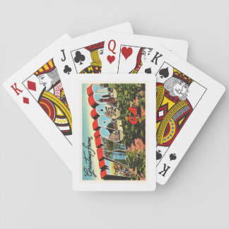 Waycross Georgia GA Old Vintage Travel Souvenir Playing Cards