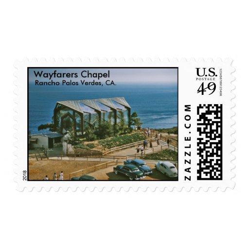 Wayfarers Chapel, Rancho Palos Verde... Stamps