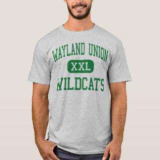Wayland Union - Wildcats - High - Wayland Michigan T-Shirt
