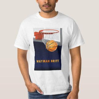 Wayman Britt Basketball T-Shirt
