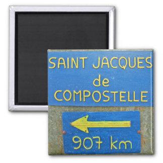 Waymark French Camino 1 Magnets