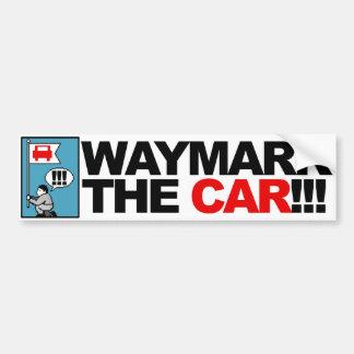 WAYMARK THE CAR! bumpersticker Car Bumper Sticker