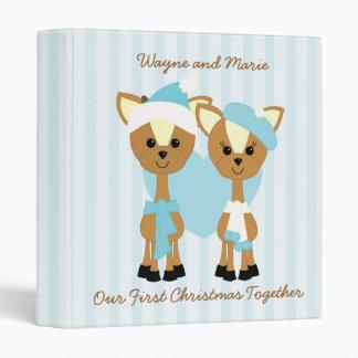 Wayne and Marie Deer 3 Ring Binder