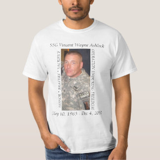 Wayne Ashlock Memorial T-Shirt