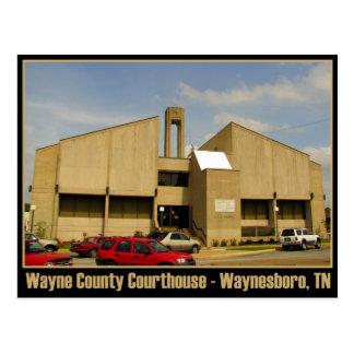 Wayne County Courthouse - Waynesboro, TN Postcard