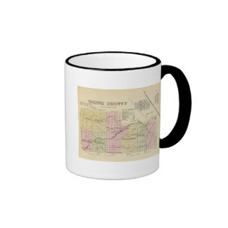 Wayne County, Nebraska Ringer Mug