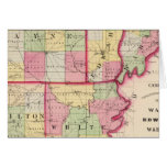 Wayne, Edwards, Wabash, Hamilton, White counties Greeting Card