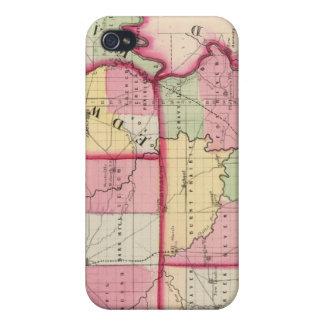 Wayne, Edwards, Wabash, Hamilton, White counties iPhone 4 Case