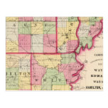 Wayne, Edwards, Wabash, Hamilton, White counties Post Cards