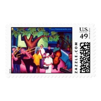Wayne Gorbea and Salsa Picante Stamp