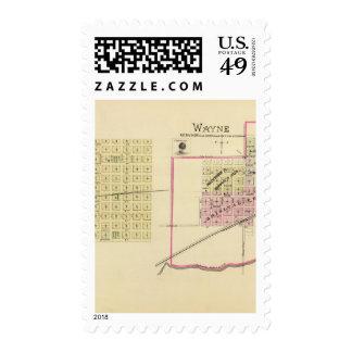 Wayne, Nebraska Postage Stamps