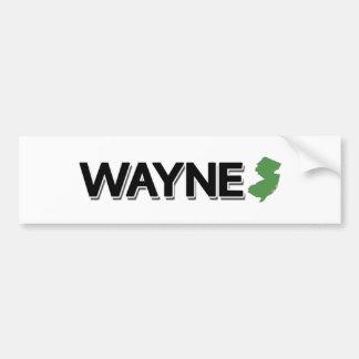Wayne New Jersey Bumper Sticker