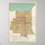 Wayne, Ontario, Yates, condados del Seneca Póster