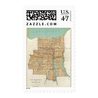 Wayne, Ontario, Yates, Seneca counties Postage