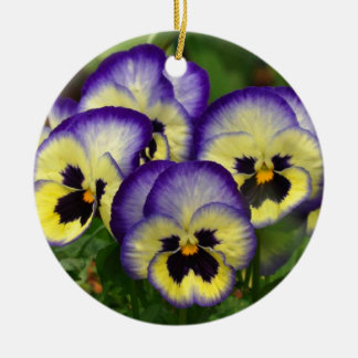 Wayne Double-Sided Ceramic Round Christmas Ornament