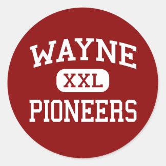 Wayne - Pioneers - Middle - Wayne West Virginia Stickers
