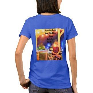 Wayne Ray Chavis ladies T shirt