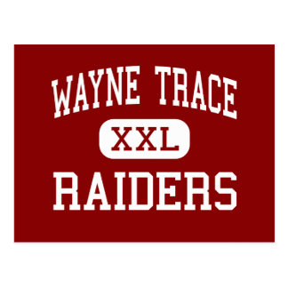 Wayne Trace - Raiders - High - Haviland Ohio Postcard