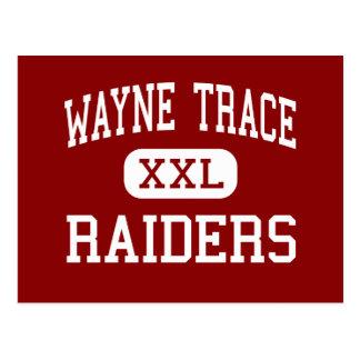 Wayne Trace - Raiders - High - Haviland Ohio Postcard