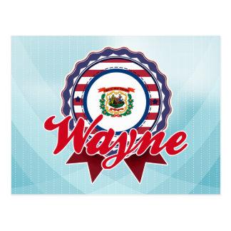 Wayne, WV Postcard