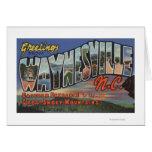 Waynesville, North Carolina - Large Letter Scene Cards