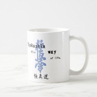 wayoflife-kanji taza clásica