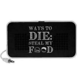 Ways To die Portable Speaker