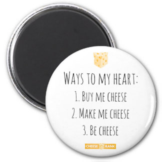 Ways to my heart. magnet
