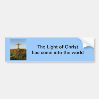Wayside Crucifix, Romania Bumper Sticker