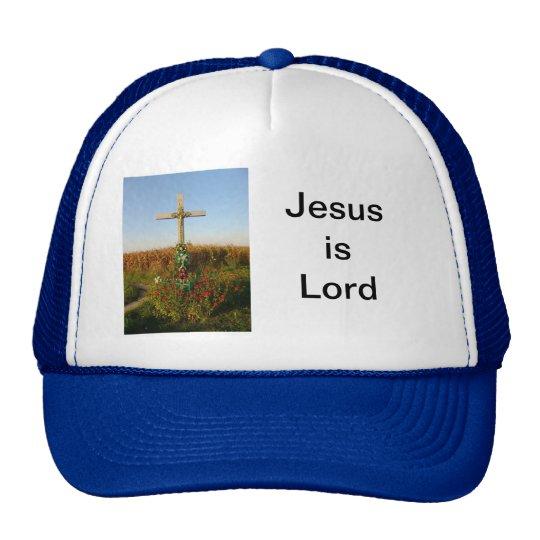 Wayside Crucifix, Romania Trucker Hat