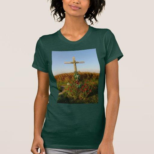 Wayside Crucifix, Romania Tshirt