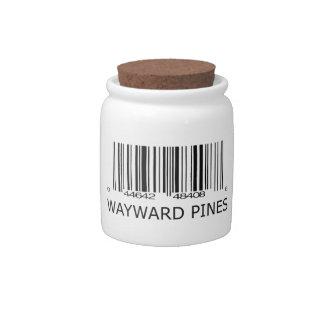 Wayward Pines Resident Candy Jar