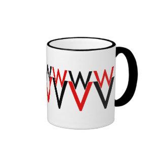 WaywardVerse Red/Black Mug