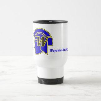 Wayzata Hockey Travel Mug - coffee