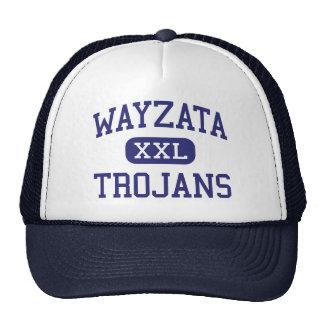 Wayzata - Trojans - High - Minneapolis Minnesota Trucker Hat