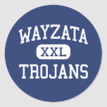Wayzata - Trojans - High - Minneapolis Minnesota Sticker