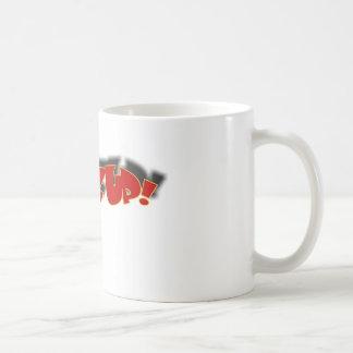 WAZZUP CLASSIC WHITE COFFEE MUG