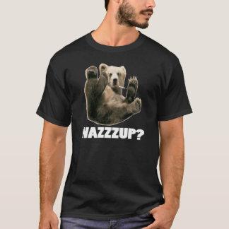 WAZZZUP? funny smoking bear shirt