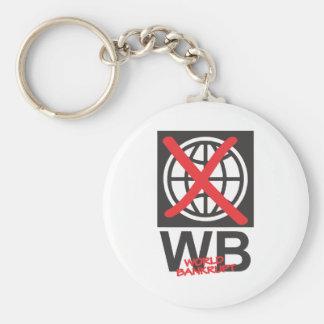 WB  World Bankrupt Keychains
