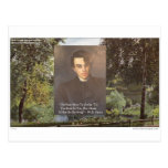 """WB Yeats """"Strike Hot Iron"""" Quote Tees Gifts Etc Postcards"""