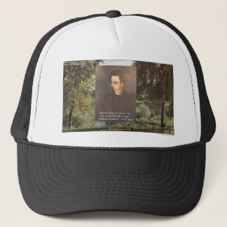 "WB Yeats ""Strike Hot Iron"" Quote Tees Gifts Etc Trucker Hat"