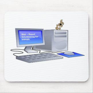 Wba Volunteer Mouse Mat